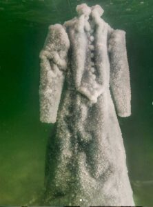 Sigalit Landau - Salt Crystal Bride Gown VIII